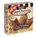 Edy's -  Light Bars Cookies & Cream 0041548047997