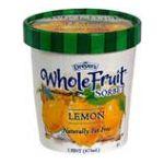 Edy's -  Sorbet Lemon 0041548052762