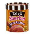 Edy's -  Sherbet Berry Rainbow 1.5 qt,1.41 l 0041548069920