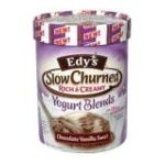 Edy's -  Slow Churned Yogurt Blends Chocolate Vanilla Swirl 1.5 qt,1.41 lt 0041548127668