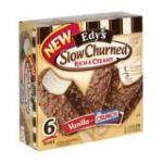 Edy's -  Light Vanilla Ice Cream Bars With Nestle Crunch 0041548162997