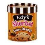 Edy's -  Sherbet Swiss Orange 1.5 qt,1.41 l 0041548202921