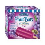Edy's -  Fruit Ice Bars Grape 0041548244044