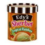 Edy's -  Sherbet Tropical Rainbow 0041548264929