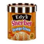 Edy's -  Sherbet & Low Fat Ice Cream Orange Cream 0041548578927