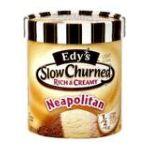 Edy's -  Ice Cream Slow Churned Neapolitan 1.5 qt,1.41 lt 0041548740867
