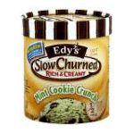 Edy's -  Edy's Ice Cream Slow Churned Rich & Creamy Mint Cookie Crunch Light 0041548750903