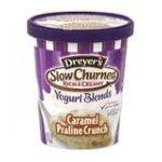 Edy's -  Slow Churned Yogurt Blends Caramel Praline Crunch 0041548751269