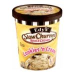 Edy's -  Slow Churned Cookies N' Cream Shake With Milk 0041548751283