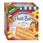 Edy's -  Peach Fruit Bars 0041548753300