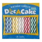Dec a cake -  Birthday Candles 24 candles 0041569100206