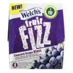 Welch's -  Fruit Fizz Concord Grape Blast Flavored Sparkling Juice Beverage 0041800201099
