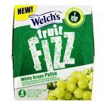 Welch's -  Fruit Fizz White Grape Pulse Flavored Sparkling Juice Beverage 0041800201105