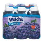 Welch's -  100% Purple Grape Juice With Calcium Bottles 0041800208609