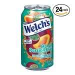 Welch's -  Mango Passionfruit Flavored Fruit Juice Drink Cans 0041800346202