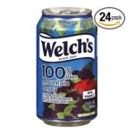 Welch's -  100% Mountain Berry Juice Cans 0041800442706