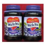Welch's -  Concord Grape Jelly 2 Jars 0041800502110