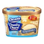 Dean Foods brands -  French Vanilla Light Ice Cream 0041900071271