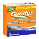 Goody -  Extra Strength Acetaminophen Aspirin Pain Reliever Fever Reducer Headache Powders 0042037102982