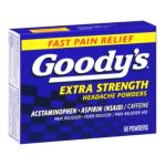 Goody -  Acetaminophen Aspirin Extra Strength Headache Powders 0042037103668
