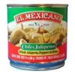 El Mexicano -  Sliced Jalapeno Peppers Water Vinegar Carrots Onions Iodized Salt Vegetable Oil Sugar And Spices 0042743230245
