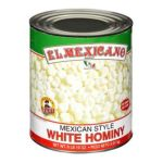 El Mexicano -  White Hominy Prepared With Water And Salt Sodium Bisulfite Added To Promote Color Retention. Contains Sodium Bisulfite Ingredient 0042743230511