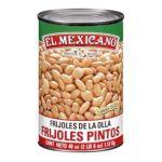 El Mexicano -  Prepared Pinto Beans Water Salt Calcium Chloride Calcium Disodium Edta Added To Preserve Color 0042743231105