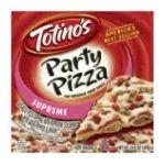 Totino's - Pizza Crisp Crust Supreme Party 0042800107008  / UPC 042800107008