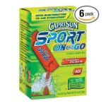 CapriSun - Fitness Drink Mix 0043000015414  / UPC 043000015414