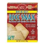 Edward & Sons -  Trading Co Cracker Rice Snax Bbq 0043182000239