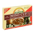 Edward & Sons -  Miso-cup Traditional Soup With Tofu 0043182000925