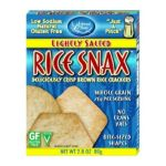 Edward & Sons -  Edward & Sons Rice Snax Lightly Salted Boxes 0043182100205