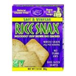 Edward & Sons -  Rice Snax Salt And Vinegar Boxes 0043182100229