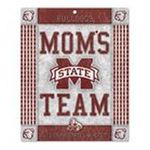 Wincraft -  Wincraft MIssissippi State Bulldogs 10x13 Moms Team Wood Sign 0043662182097