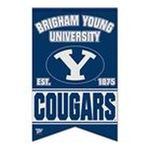 Wincraft -  Wincraft Brigham Young Cougars 17x26 Premium Quality Banner 0043662190771