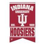 Wincraft -  Wincraft Indiana Hoosiers 17x26 Premium Quality Banner 0043662190795