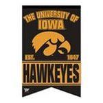 Wincraft -  Wincraft Banner Iowa Hawkeyes 17x26 Premium Quality Banner 0043662190801