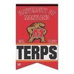 Wincraft -  Wincraft Maryland Terrapins 17x26 Premium Quality Banner 0043662190825