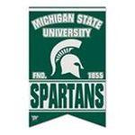 Wincraft -  Wincraft Michigan State Spartans 17x26 Premium Quality Banner 0043662190832
