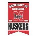 Wincraft -  Wincraft Nebraska Cornhuskers 17x26 Premium Quality Banner 0043662190849