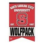 Wincraft -  Wincraft North Carolina State Wolfpack 17x26 Premium Quality Banner 0043662190887