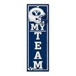 Wincraft -  Wincraft Brigham Young Cougars 4x13 Wood Sign 0043662191709
