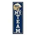 Wincraft -  Wincraft Pittsburgh Panthers 4x13 Wood Sign 0043662191921