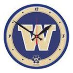 Wincraft -  Wincraft Washington Huskies Round Clock 0043662193222