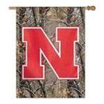 Wincraft -  Wincraft Nebraska Cornhuskers 27x37 Reat Tree Vertical Flag 0043662197190