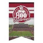 Wincraft -  Wincraft Oklahoma Sooners 17x26 Premium Quality Banner 0043662197527