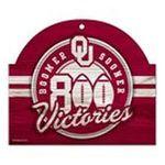 Wincraft -  Wincraft Oklahoma Sooners 11x9 Wood Sign 0043662197923