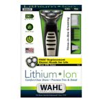 Wahl -  Lithium Ion Triple Play Shaver Trimmer Detailer Model 9937 Black Stainless 0043917993706