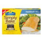 Gorton's Seafood -  Simply Bake Haddock Garlic Herb Butter 0044400125406