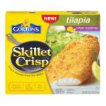 Gorton's Seafood -  Skillet Crisp Tilapia Lightly Coated Classic Seasonings With Lemon Fish Fillets 0044400153607